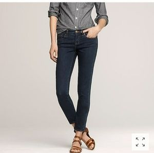 Twilight Wash Toothpick J. CREW Ankle Jeans
